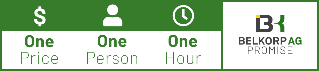 One Price, One Person, One Hour Graphic