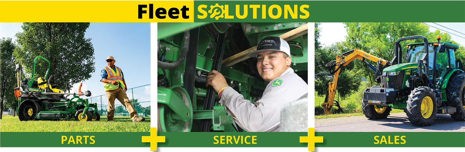 parts service and sales graphic