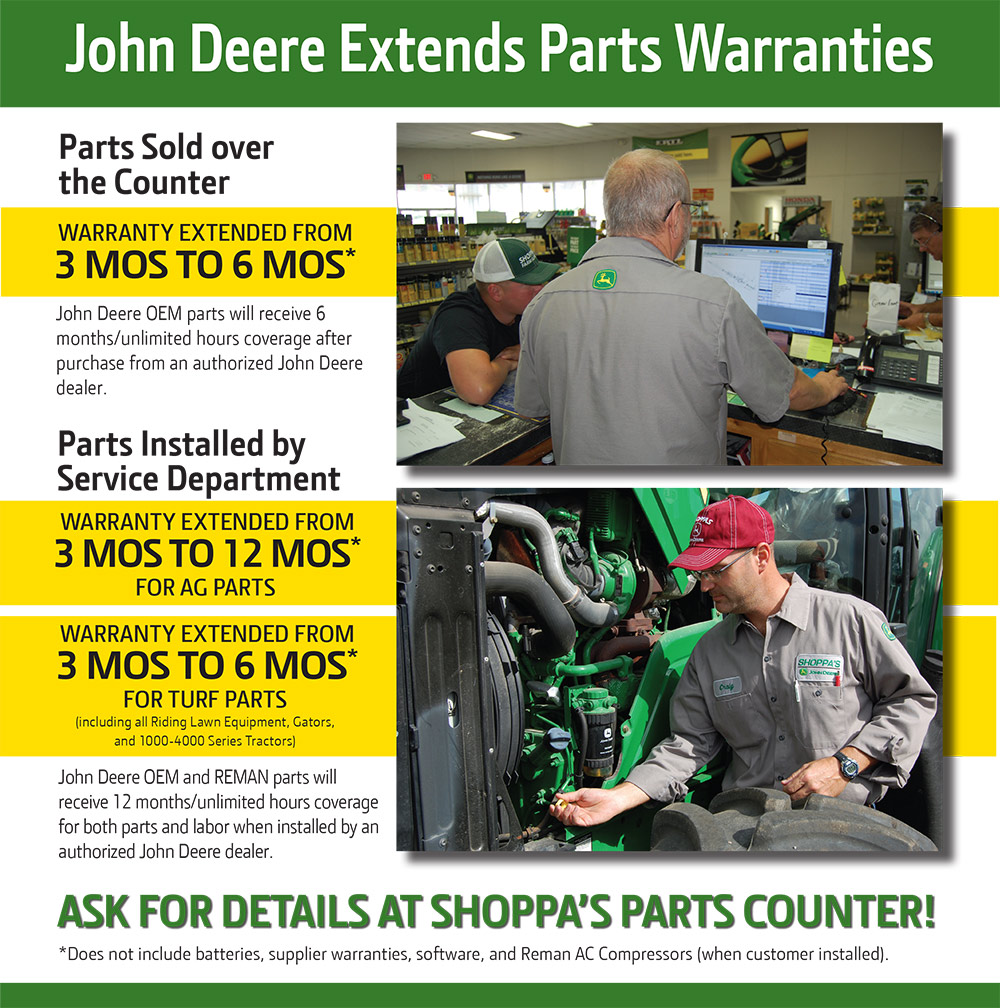 extended warranty poster