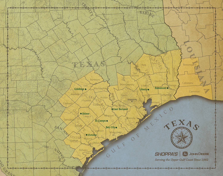 AOR map