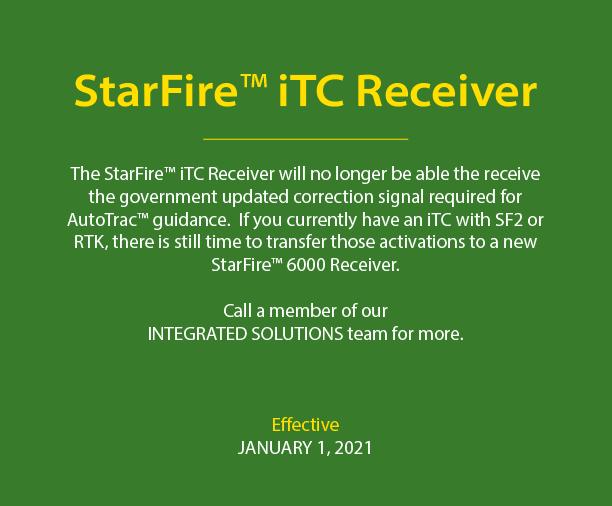 StarFire ITC Receiver