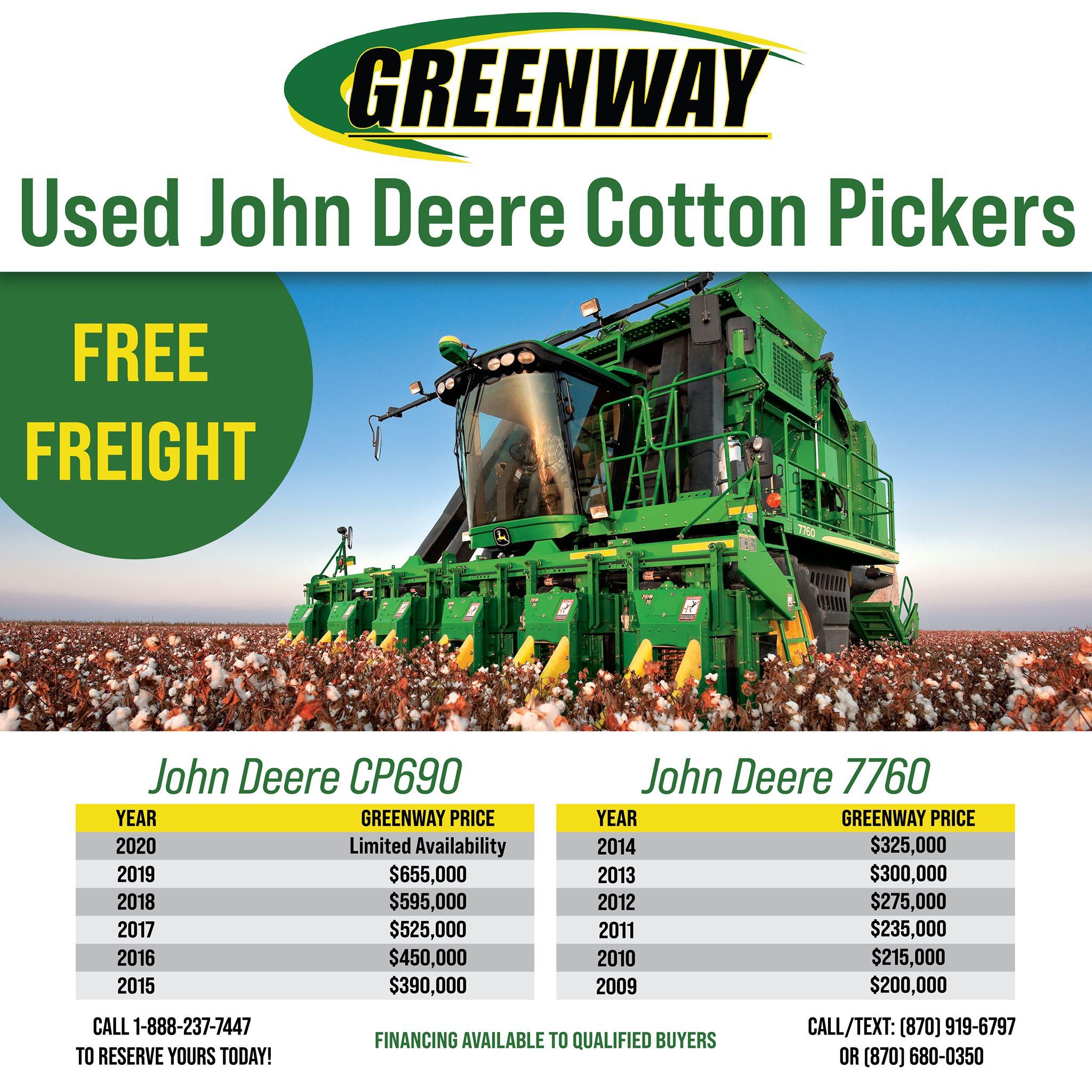 cotton picker ad