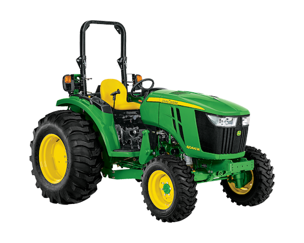 Studio photo of the 4044M Compact Tractor